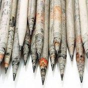 newspaper-pencils