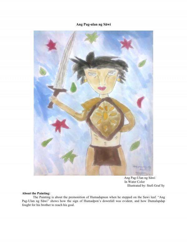 """""""Ang Pag-ulan ng Sawi,"""" from the Hinilawod-Inspired Art ..."""