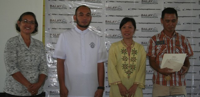Mrs. Jazmin B. Josue, Fr. Martin N. Laurio, Genevieve L. Asenjo, Ramil P. Martinez.