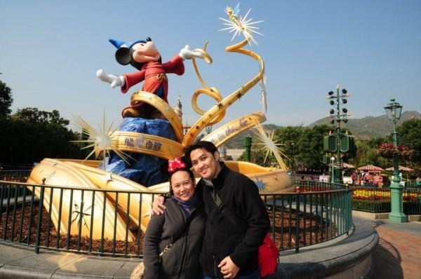 Bakasyon 2011. Disneyland, Hong Kong