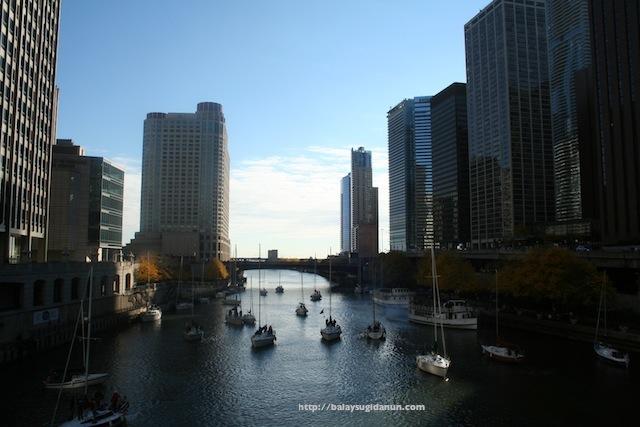 Ang bantog nga suba kang Chicago