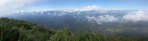 Sa ibabaw kang Mt. Cristobal