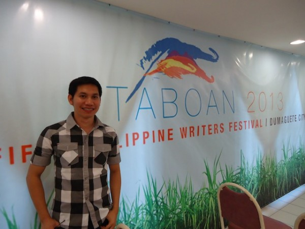 Si Norman Darap sa Taboan 2013.
