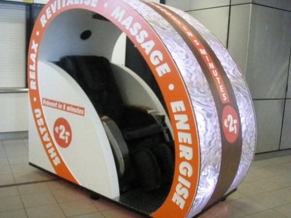 Para mag-relax sa Schiphol Airport.