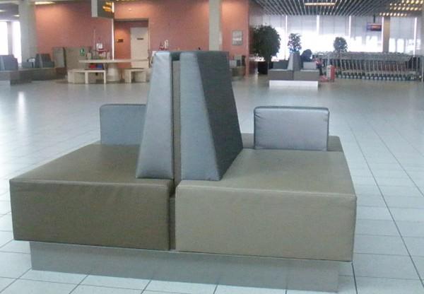 Sofa sa Schiphol Airport.