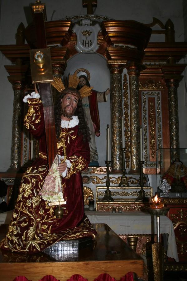 Rebulto ni Kristo sa sulod kang Barasoian Church sa Malolos, Bulacan.