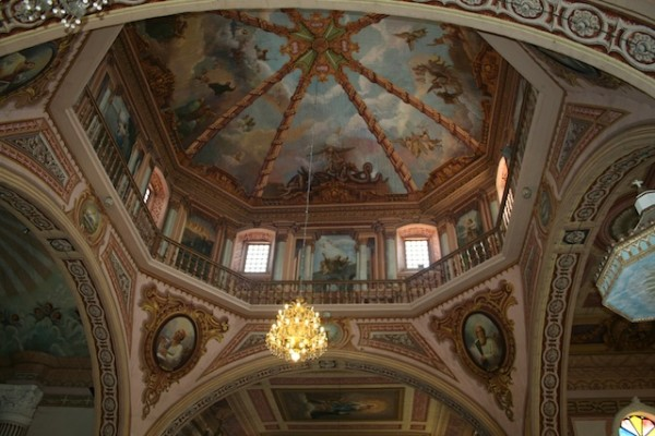 "Kisame kang St. James The Apostle Church, ang ""the Sistine Chapel"" kang Pilipinas."