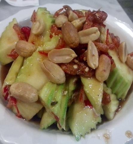 Salad kang hilaw nga mangga.
