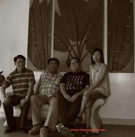 Si Sir Leo Deriada kaimaw  ang  mga manunulat kang rehiyon nga nagakilala ka anang bahul nga nahimo: Isidoro Cruz, John Iremil Teodoro, Pangga Gen.