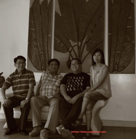 Si Sir Leo Deriada kaimaw  ang  pira pa ka mga manunulat kang rehiyon nga nagakilala ka anang bahul nga nahimo: Isidoro Cruz, John Iremil Teodoro, Pangga Gen.