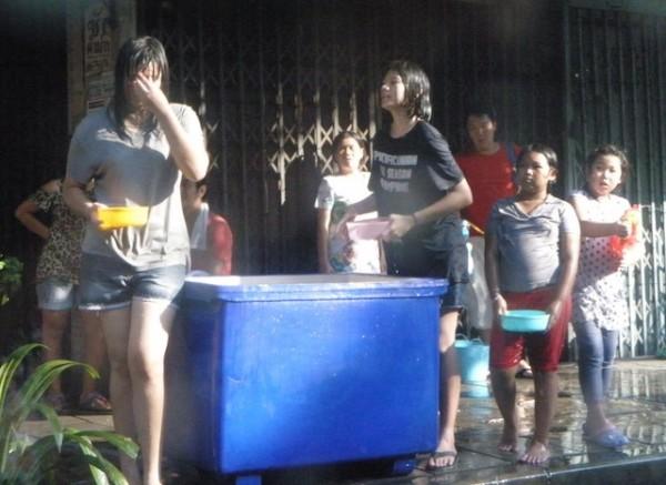 Basyahanay tubig.
