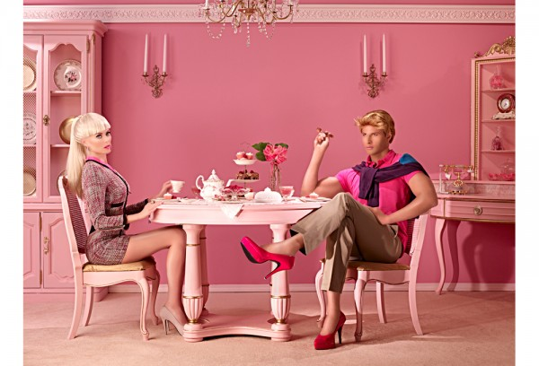 Barbie-inspired marriage. http://inthedollhouse.net