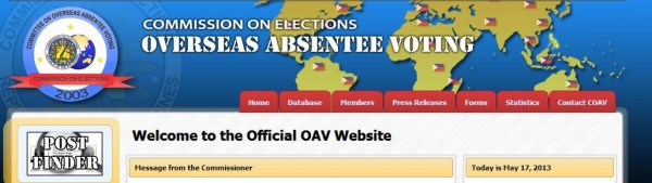 OAV website.