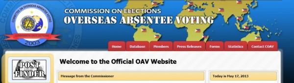 OAV website.