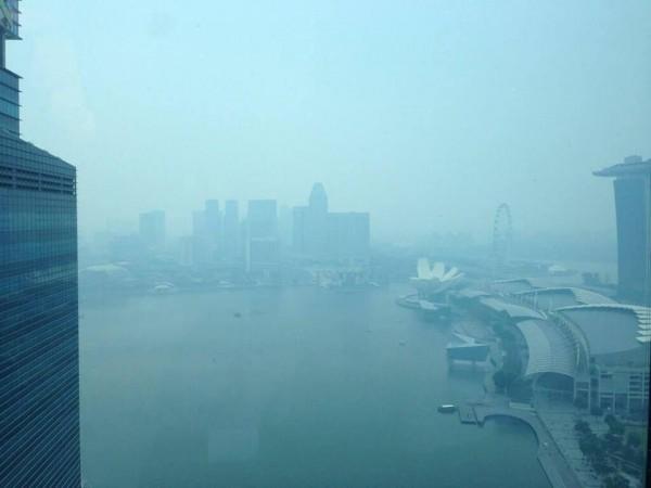 Haze sa city area kadya nga adlaw.
