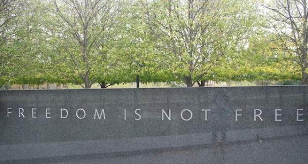 Sa War Memorial Park sa Washington, D.C. Litrato kang tagsulat.