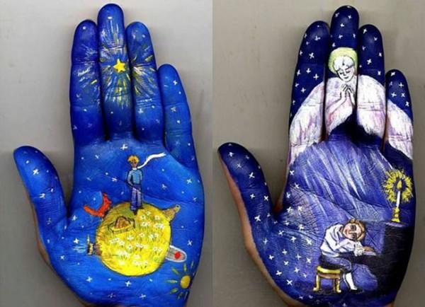 Hand Painting ni Svetlana Kosolova (www.lostateminor.com)