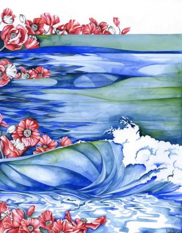 Watercolor /Candice Davis 'www.lostateminor.com