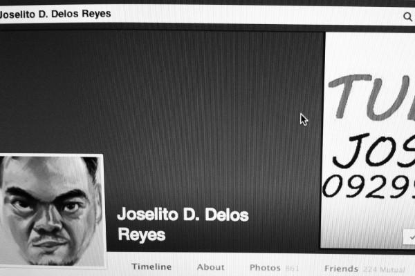 Screenshot ng kanyang FB account.