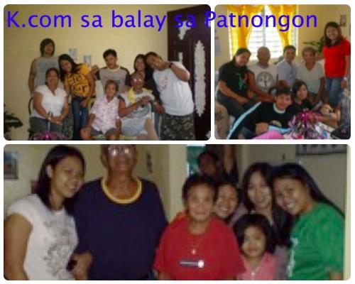 Mga miyembro kang Kinaray-a.com imaw ang akun pamilya sa Patnongon.