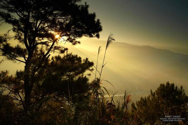 """""""First Light"""" /Bobby Wong, Jr. /www.postcardsfrommanila.com"""