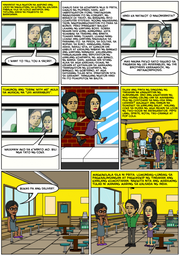 Lumbay ng Dila - Chapter 37 Comics (Page 1)