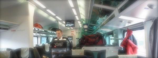 May Nagalibud man sa Tren