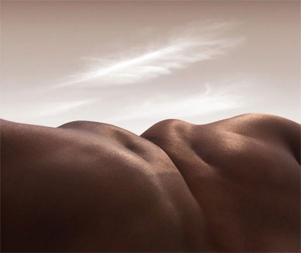 'Bodyscapes' / Carl Warner via www.lostateminor.com