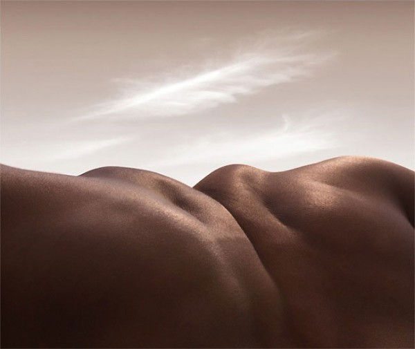 'Bodyscapes' / Carl Warner via www.lostateminor.com