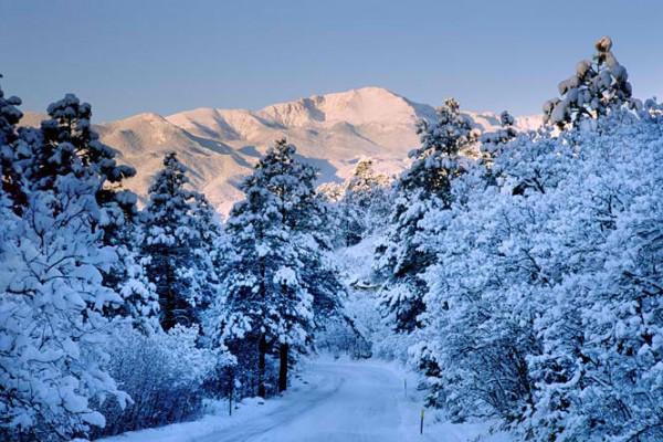 'Ang Pikes Peak sa snow' / http://blog.pikes-peak.com