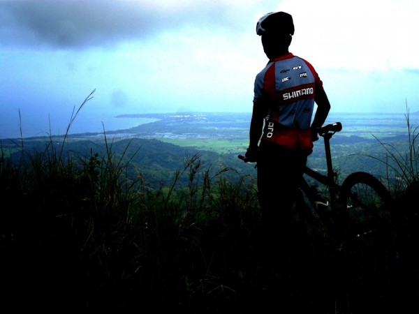 'Cycling is one of life's best freedoms.' Photo: Ramil P. Martinez with Keichi Delos Reyes.
