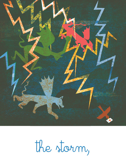 Halin sa 'Ballad' ni Blexbolex via Maria Popova's BrainPickings / http://www.brainpickings.org/index.php/tag/childrens-books/