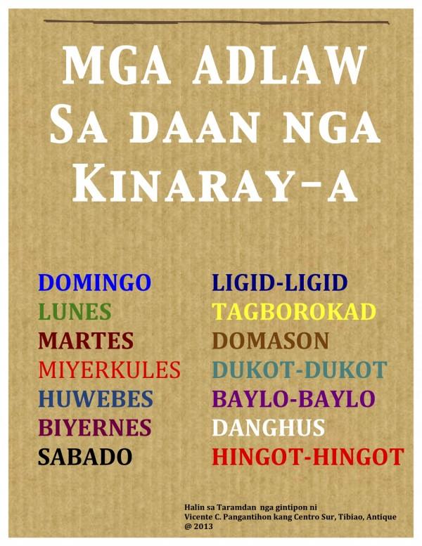 Adlaw sa Kinaray-a