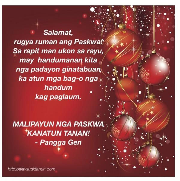 Christmas greetings balay sugidanun christmas greetings m4hsunfo