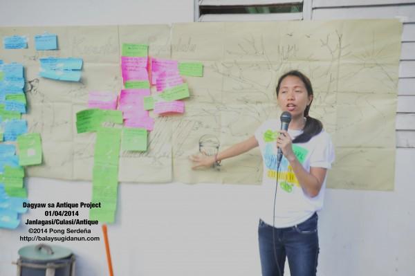 Pearl Joy Asenjo, trained and experienced psychosocial facilitator with the Ateneo de Davao University, led our psychosocial support, with the 'Ang Kuwento ng Pagdadala' framework.