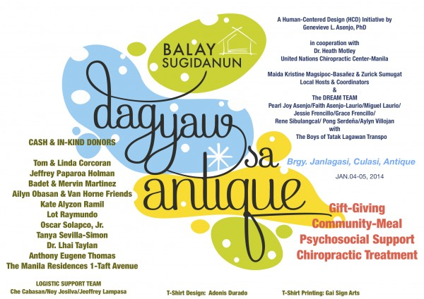 Poster_Dagyaw sa Antique Project 2014