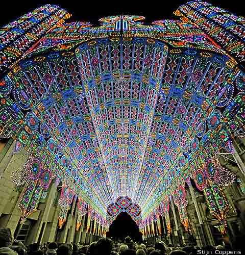 'Rave Church: Ghent Light Festival 2012' / www.lostateminor.com
