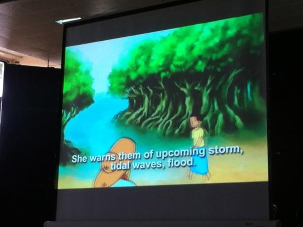 'Alimango sa Bakhawan' ni Michael Q. Orquejo. Sangka flash animation sa Kinaray-a nga may lubad sa Ingles. Sangka produksyon kang Balay Sugidanun.