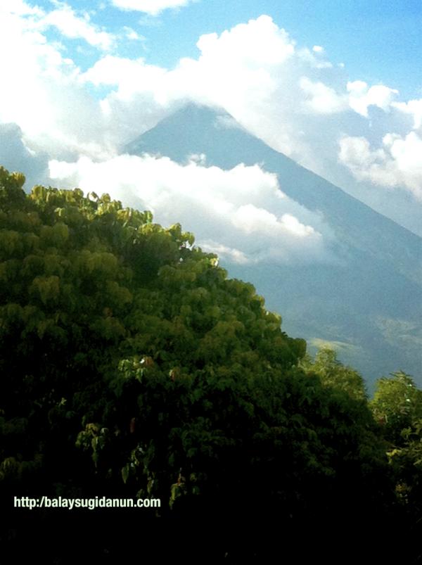 Mayon Volcano from Balay de la Rama, Brgy. Banyag, Daraga, Albay
