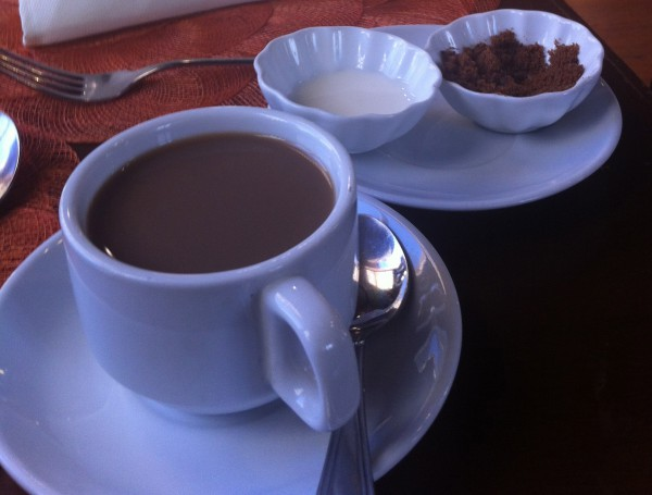 Tinutungang Kape (Rice Coffee) ukon Sara-sara /iPhone4S /Pangga Gen