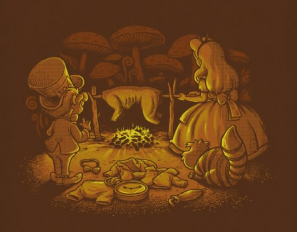 Ang pagraha kang paborito natun nga mga cartoon character /Ben Chen /via www.lostateminor.com