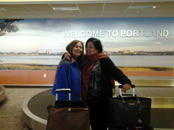 Pahkitaay namun sa airport ni Manang Sally.